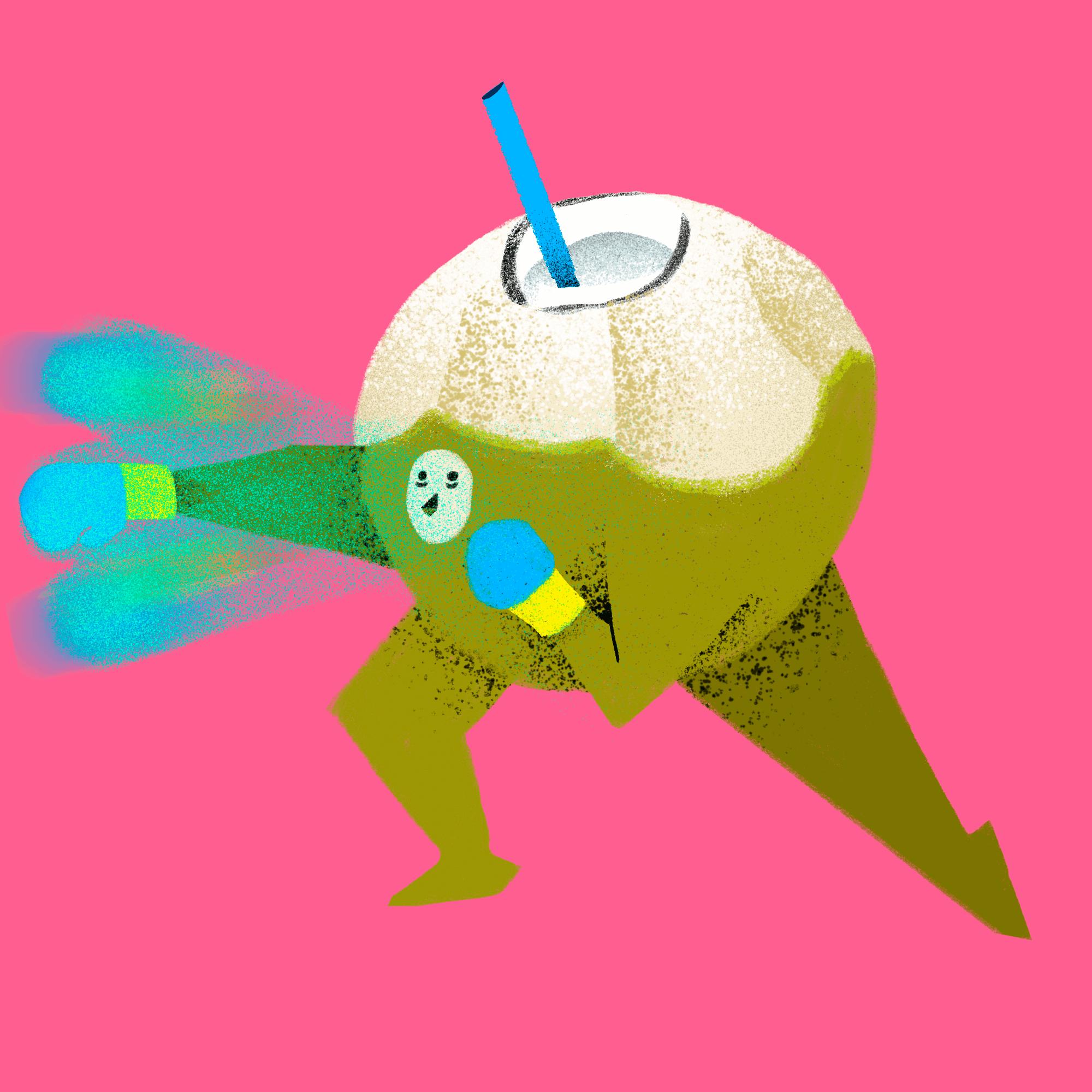 coconut-guy